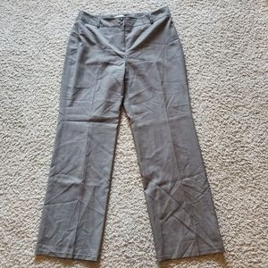 Brown wool Loft Laura trouser